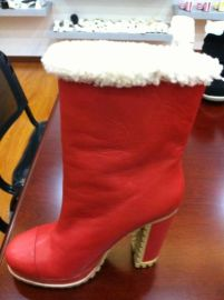 看图片开发秋冬季高跟女靴