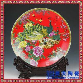 景德镇精品陶瓷手工手绘青花 瓷盘挂盘餐具 厂家定做
