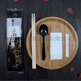 一次性筷子組合四件套牙籤筷子勺子餐巾紙外賣組合