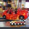 景区儿童喜爱流连忘返的游乐设备新款F1赛车飞车安全