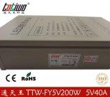 正品通天王5V40A防雨开关电源 200W防雨变压器 5V防雨稳压电源 质保三年