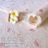 白色花瓣紙 花紙圖片 東巴紙 手工紙 植物紙