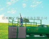 西藏拉薩用華之睿客土噴播機作道路邊坡綠化