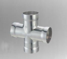宝捷承插焊四通管件,承插焊不锈钢管件