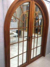 铝包木系统门窗,别墅**铝包木定制,铝木复合门窗厂家,天盛阳门窗