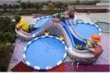移動水上樂園 充氣水上樂園 水上滑梯組合 沙灘池 決明子沙灘池