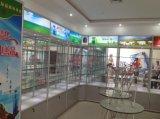 天津峰智货架厂精品钛合金货架展示柜定做钛合金旋转柜