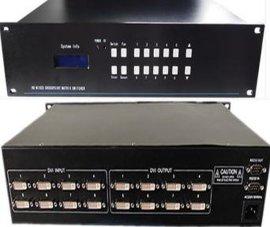 8进8出DVI视频矩阵切换器 高清矩阵 DVI矩阵 视频矩阵 拼接矩阵