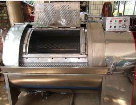 广州市富得100公斤半自动工业洗衣机洗涤机械洗涤设备
