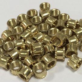 提供非标铜螺母/非标自动车床件/精密铜螺母/注塑铜螺母/五金