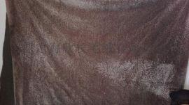 厂家生产水波纹仿羊剪绒面料