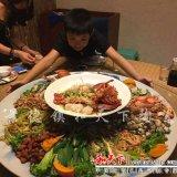 遼寧鞍山大盤魚大盤圓盤陶瓷耐高溫蒸魚盤圓形海鮮盤