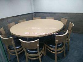 龙华中餐厅圆形餐桌厂定制款式,实木餐椅报价,深圳餐桌椅厂