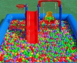 广州充气海洋球池儿童沙滩池批发价