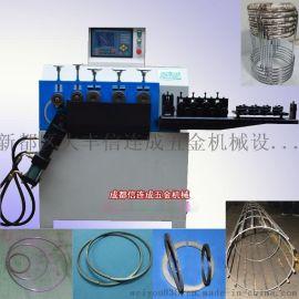 重庆2-10电杆架立圈打圈机 全自动数控打圈机