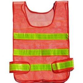交通网格反光背心道路养护反光衣