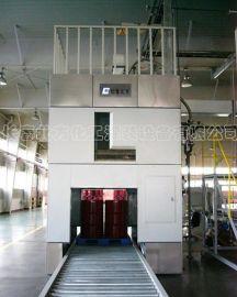 视觉寻址全自动化工液体灌装机-200L桶-IBC吨桶