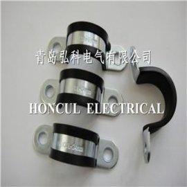 马鞍型包胶固定夹 (PCU010)