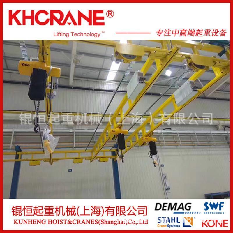 KBK轨道 刚性轨道 钢轨配件 钢轨小车 钢性组合轨道 安博轨道