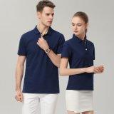 夏季情侶裝短袖POLO衫定製t恤  服班服工作服廣告文化衫員工服