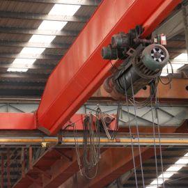 厂家直销电动单梁起重机承重力强**电动葫芦单梁桥式起重机