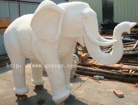 人造砂岩大象 砂岩艺术大象雕塑 人造石雕塑摆件 砂岩园林景观装饰小品 园林景观装饰动物雕塑