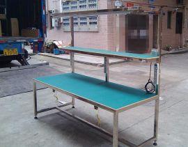 普通工作台 工作桌 不锈钢桌子 升级台 检查桌