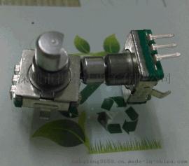 供应 EC113编码开关五脚柄长旋转编码器带开关 音响数字电位器,