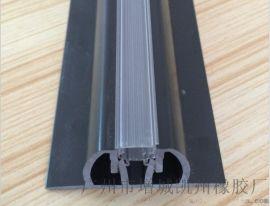 生产销售 P形塑胶挤出异型材 PVC材质塑料挤出PVC异型材平面法兰