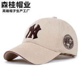 新款春夏季棒球帽男休闲运动鸭舌帽女遮太阳防晒帽子厂家