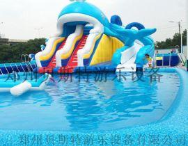 甘肃临夏水上乐园真的很好玩啊