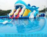 甘肅臨夏水上樂園真的很好玩啊