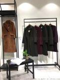 欧美商务中端女装品牌慧之芳羊绒大衣双面呢大衣拿货