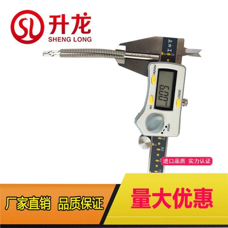 3D模具单头加热管,高功率单头加热管,非标电热管