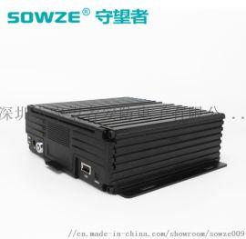 守望者新款8路车载录像机 AHD高清硬盘监控主机