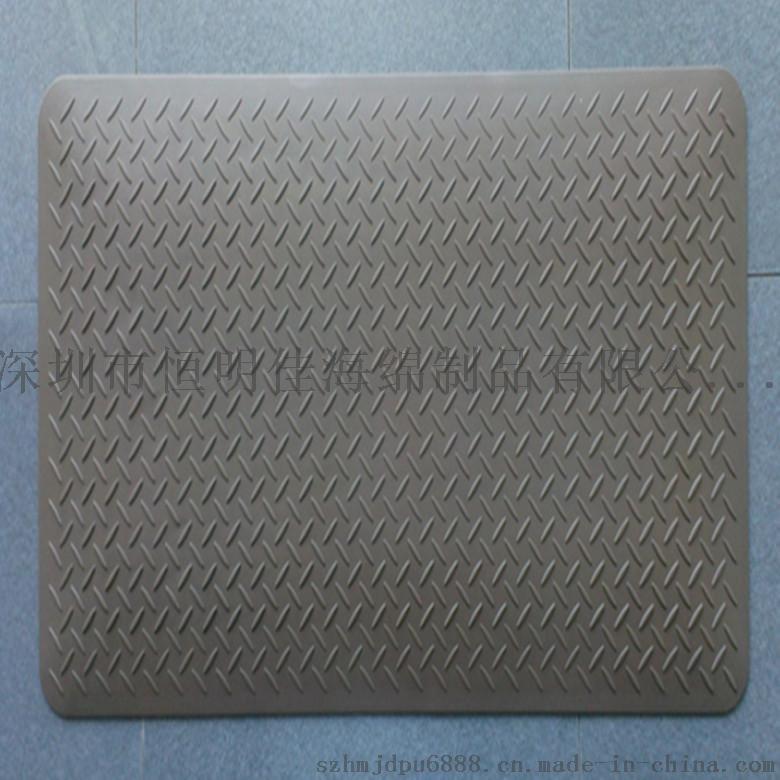 厂家供应 高品质自结皮脚垫 保温隔热PU防滑垫 客厅专用高档地垫