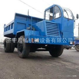 河南地区  履带式大吨位运输车 橡胶履带 可加推铲工厂直销