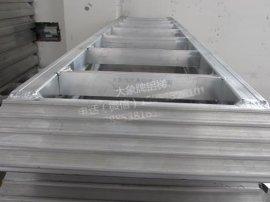 高强度铝合金跳板 大象牌收割机铝梯 收割机铝爬梯