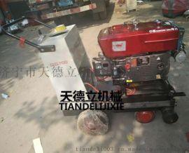 27型水冷柴油路面切割机  电启动马路切割机