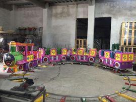 直销广场新型游乐设备儿童轨道小火车