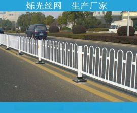 南京锌钢护栏 穿插锌钢栅栏 市政道路护栏 组装护栏