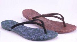 PVC吹气拖鞋 -12