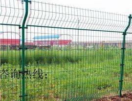 金属网隔离栅厂景德镇工厂设备围网_双边丝护栏价格_厂房铁栏杆