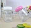 办公室带盖水杯创意透明花茶杯便携可爱定制泡茶玻璃杯厂家直销