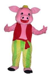 卡通表演服装 -招财猪