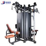 四站位綜合訓練器材 多功能組合健身運動器械 健身房組合訓練器材廠家直銷 力量訓練