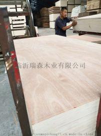 桃花芯包装板 包装板厂家多层板  奥古曼胶合板