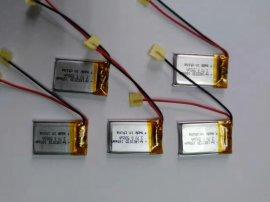 小家电器402030-160mah聚合物 电池