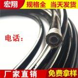 宏翔高压树脂油管 钢丝缠绕超高压液压软管油管总成
