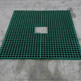 玻璃钢污水沟踏步板玻璃钢格栅 养殖场玻璃钢盖板